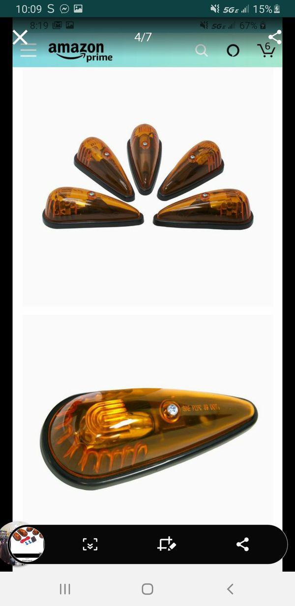 New Blazer International Trailer & Towing Accessories Blazer DF472CAK Teardrop Marker Light Kit, 5 Pack