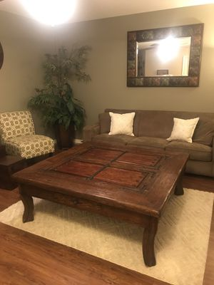 Solid Wood Coffee Table for Sale in Phoenix, AZ