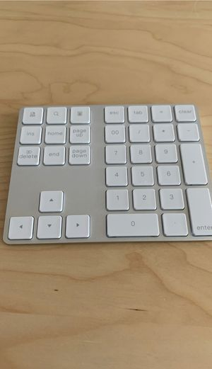 Bluetooth Numeric keyboard for PC/MAC for Sale in Arcadia, CA
