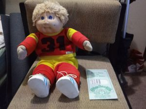 1985 Cabbage Patch Kids Doll. OK Factory. Papers. for Sale, used for sale  Aloha, OR