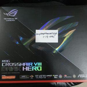 ASUS ROG Crosshair VIII Dark Hero X570 NEW/SEALED, Ready to Ship! for Sale in Woodbridge Township, NJ