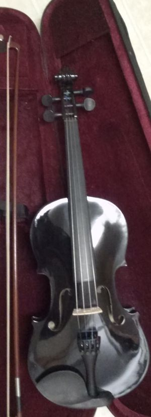 Brand New Black Violin with Case, Bow and Rosin for Sale in Mount Juliet, TN