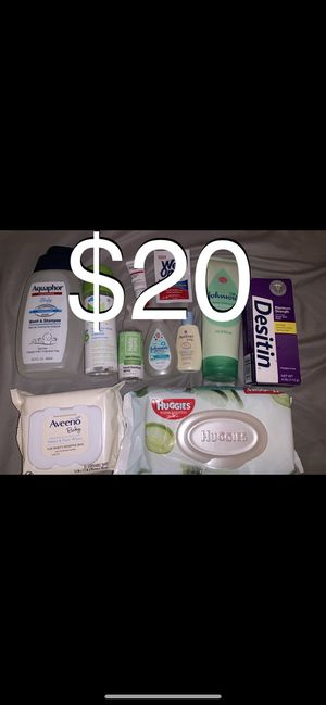 Baby hygiene Bundle for Sale in Fontana, CA