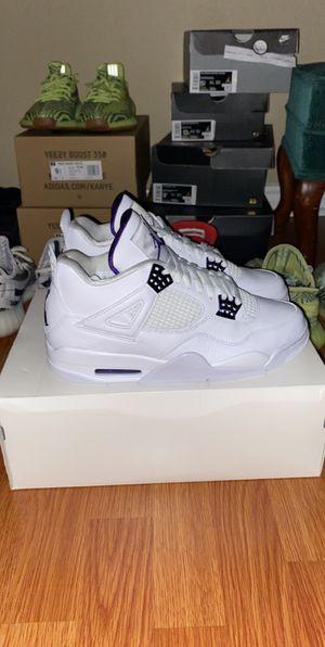 Jordan 4 'metallic purple' dead stock(new) for Sale in Austin, TX