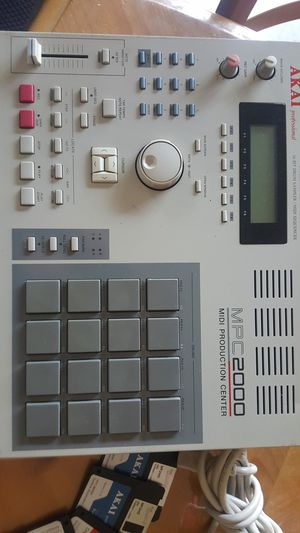 Akai 2000 mpc with the 8 outputs, awesome machine, great condition screen very bright, setup floppys included for Sale in Burbank, CA