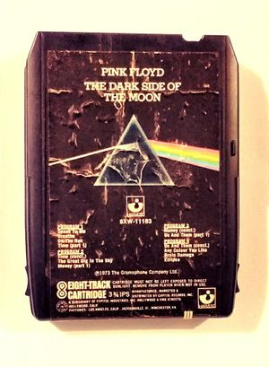 "Pink Floyd ""Darkside* 8track Cassette (Harvest Label 8XW11163) for Sale in East Peoria, IL"