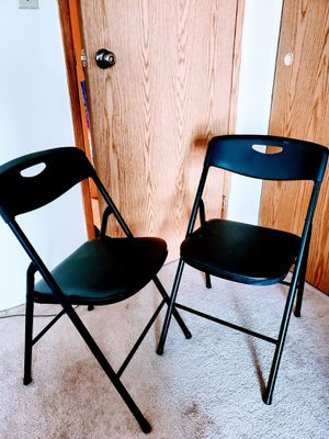 Folding chairs for Sale in Denver, CO