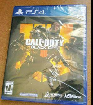 PS4 CALL OF DUTY BLACKOPS 4 100👍💥 for Sale in Riverside, CA
