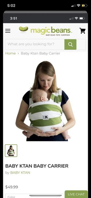 Baby Ktan baby carrier for Sale in Georgetown, TX
