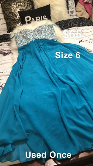Blue Prom/Party Dress for Sale in Dinuba, CA