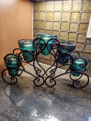 Vintage Glass Insulator Centerpiece for Sale in Pleasant Hill, IA