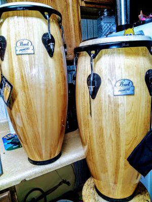 """Pearl Primero series 10"""" & 11"""" Conga set for Sale in Lake City, MI"""