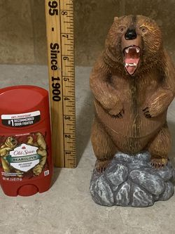 Old spice Bear glove Deodorant Holder With A Full Size Antiperspirant Never Used for Sale in Salem,  OR