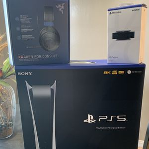 Ps5 Bundle Brand New for Sale in Bakersfield, CA