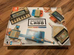Nintendo Switch Labo Variety Kit , basically brand new for Sale in Pendleton, IN