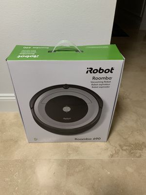 Like New!...iRobot Roomba 690: Open box. for Sale in Fort Lauderdale, FL