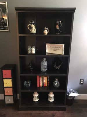 Espresso bookcase for Sale in Manassas, VA