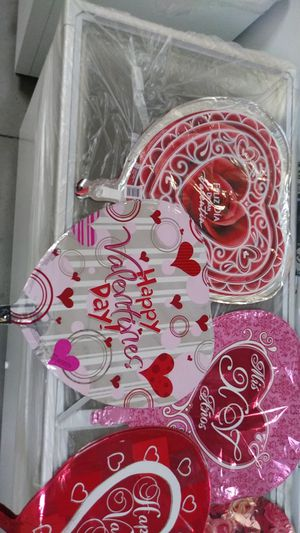 Helium balloons Valentine's day. Heart shap for Sale in Nashville, TN