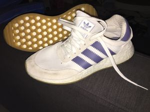 White blue Adidas vintage look men's 6.5 or women's 8 for Sale in Agoura Hills, CA