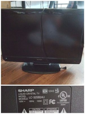 """32"""" Sharp TV for Sale in Donna, TX"""