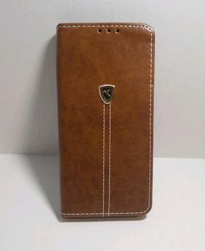 Samsung Galaxy Note 8 Brown Wallet Case for Sale in Covina, CA