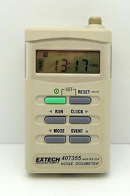 Extech 407355 Noise Dosimeter Personal w/RS232 Software/Cable