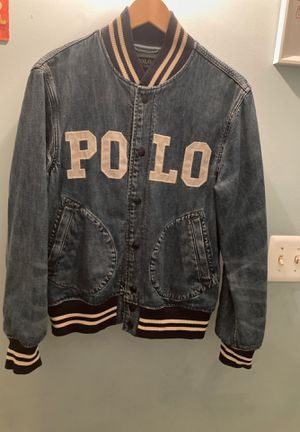 Ralph Lauren Polo Denim Jean Jacket Small for Sale in Manassas, VA