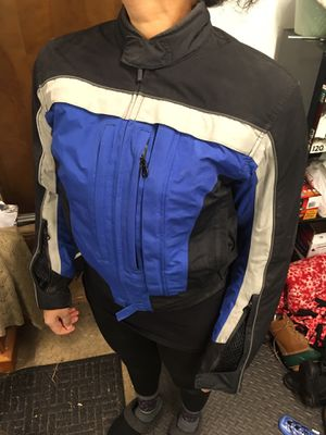 Women's First Gear motorcycle jacket (waterproof with liner and body armor for Sale in Port Orchard, WA