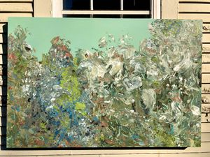 Original Large Abstract Floral Painting for Sale in Sioux Falls, SD