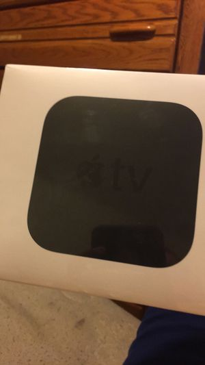 Apple 4K tv and 2 wireless remotes 260 obo or trade for impala rims or anythingj for Sale in Waterford Township, MI