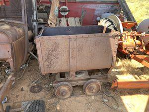 Arthur Koppell Co. Vintage Mining Ore Car for Sale in Phoenix, AZ