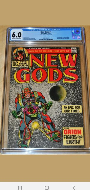 Dc new gods 1 cgc 6.0 for Sale in Anaheim, CA