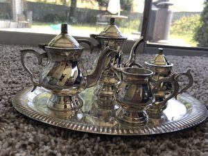 Miniature Silver Coffee/Tea Service for Sale in San Leandro, CA