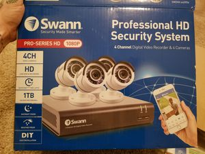 Swann 4 Channel Security System for Sale in Portland, OR