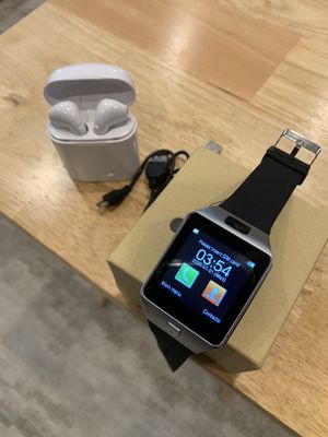 Smart watch and earbuds for Sale in Wichita, KS