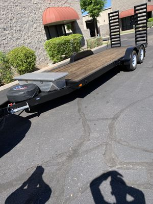 Trailer 20ft long x 81 inches for Sale in Glendale, AZ