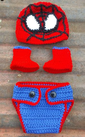 Handmade baby inspired by Spiderman outfit. for Sale in Fort Worth, TX