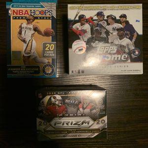 NBA Hoops/ NFL Prizm/ MLB Topps for Sale in Tempe, AZ