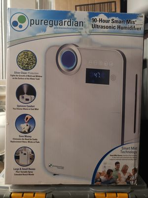 Pureguardian 90hour smart mist humidifier for Sale in Revere, MA