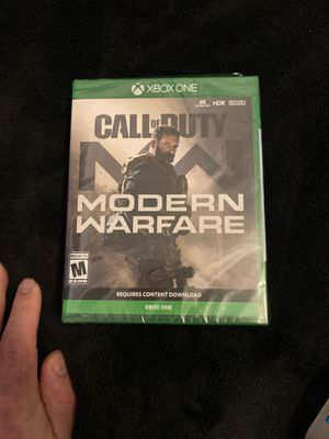 Call of duty modern warfare Xbox one for Sale in Long Beach, CA