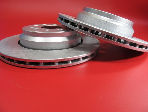 Maserati Ghibli Quattroporte base S rear brake disc rotors smooth 2 pcs