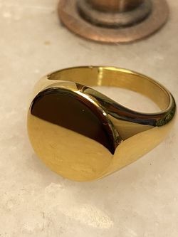 Gold Ring - 18k Gold Plated - Size 8 for Sale in Mesa,  AZ