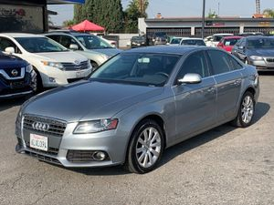 2010 Audi A4 2.0T Premium Plus Sedan is on display in Meteor Gray Pearl Effect. Powered by a TurboCharged 2.0 Liter 4 Cylinder that produces 211hp for Sale in Bellflower, CA
