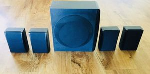 Subwoofer and 4 Speakers of RCA RTD396. for Sale in Westminster, CA