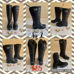 new SAM EDELMAN BOOTS FOR WOMEN'S Sz 7 Black for Sale in Hacienda Heights,  CA