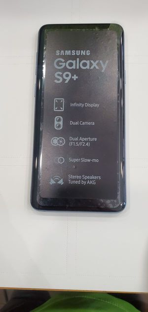 Samsung Galaxy S9 plus 64GB Like New ( Unlocked for any carrier ) for Sale in Silver Spring, MD