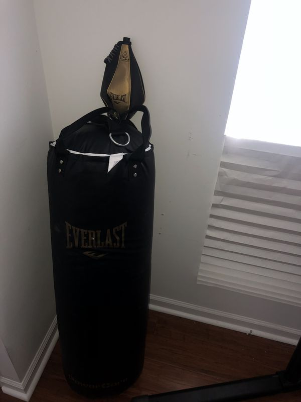 EVERLAST Heavy Punching Bag/ Speed Bag/ Heavy Bag Stand