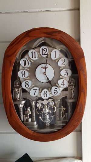 Springfield clock company musical clock for Sale in Springfield, OR