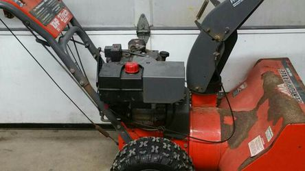 """LARGE SELF PROPELLED NOMA PERFORMANCE SNOWBLOWER 10 HP 27"""" PATH MURRAY for Sale in Schaumburg,  IL"""