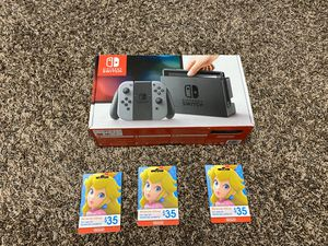 Brand New Nintendo Switch With Nintendo Eshop Gift Cards $35 each for Sale in Altadena, CA